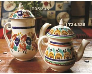 mexican pottery mexican ceramic folk art talavera Tea Pot