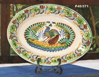 Mexican pottery mexican ceramic folk art Special Oval Platter