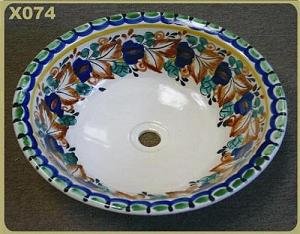 mexican pottery mexican ceramic folk art talavera X074