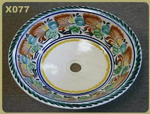 mexican pottery mexican ceramic folk art talavera X077
