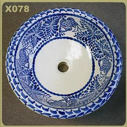 mexican pottery mexican ceramic folk art talavera X078