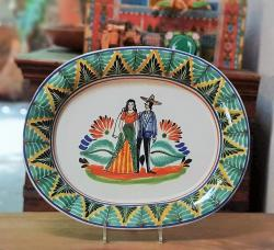 190128-08-weddingovaltray-mexicanweddings-oval-tray-charros-serving-dinner-saladplates-mexico--handthowrn-handmade-hand-painted-mexican-pottery