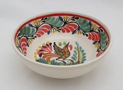 190712-16-01+mexican-bowl-handmade-handcrafts-bird-christmas-tableware-talavera-majolica