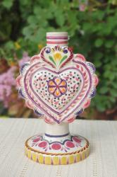 200625-02-01-mexican-purple-decorative-candle-holder-majolica-for-sale