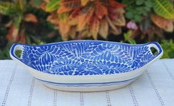200722-17-01-mexican-ceramic-pottery-oval-bowl-with-handle-talavera-majolica-hand-made-mexico-table-serving