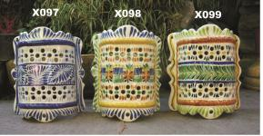 Mexican pottery mexican ceramic folk art Wall Display