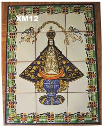 Gorky Gonzalez / Gorky Pottery Virgin of San Juan<br>Wall Tiles II