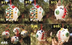 Mexican pottery mexican ceramic folk art Pg Ornament
