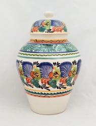 Mexican pottery mexican ceramic folk art Traditional Tibor