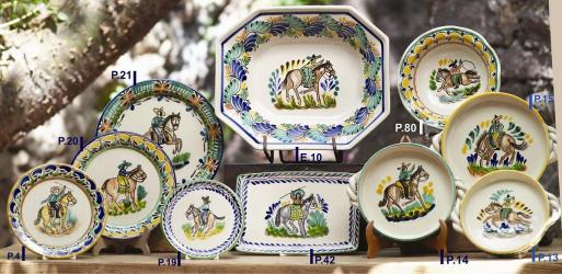 Mexican pottery mexican ceramic folk art Charro Collection