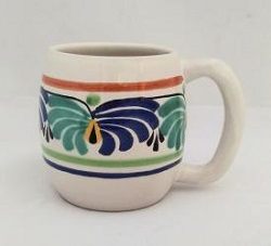 Gorky Gonzalez / Gorky Pottery Beer Mug<br>Green-Blue Colors