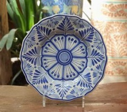 flower-plate-blue-talavera-handcrafts-gto-mexico-art-gallery-tableware-tabledecor