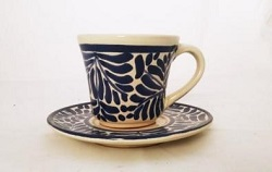 mexica-pottery-expresso-cup-and-saucer-talavera-majolica-hand-made-mexico