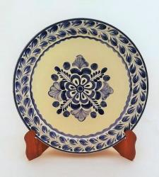 mexican-blue-plates-flower-tabledecor-tableware-amazon-etsy-custom-ceramic-handcrafts