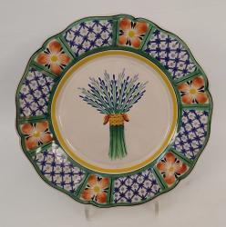 mexican-ceramic-plates-pottery-hand-painted-lavanda-pattern-talavera-majolica-table-decor-mexico