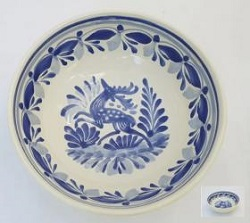 mexican-plates-cereal-soup-bowl-handcrafts-talavera-deer-mexico