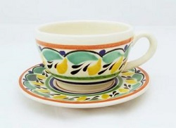 mexican-pottery-ceramic-tableware-cup-and-saucer-majolica-coffe-break-mexico