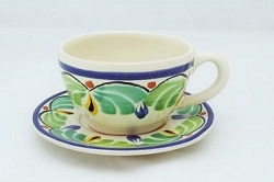mexican-pottery-ceramic-tableware-cup-and-saucer-majolica-hand-painted-mexico