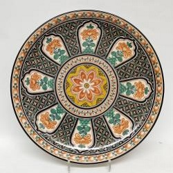 mexican-wall-platters-decorative-folk-art-hand-made-mexico-morisco-multicolors-gorky-workshop