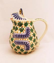 mexican-water-jar-pottery-frog-ceramic-majolica-hand-made-mexico-tableware-2